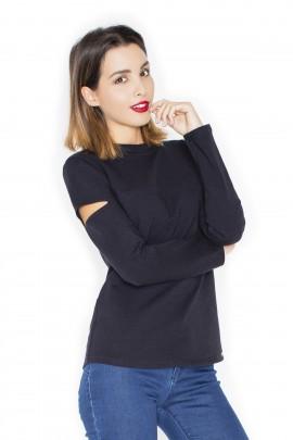 Блузка KATRUS K339 чёрный