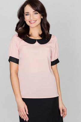 Блузка LENITIF K088 розовый