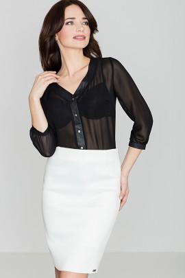 Блузка LENITIF K089 черный