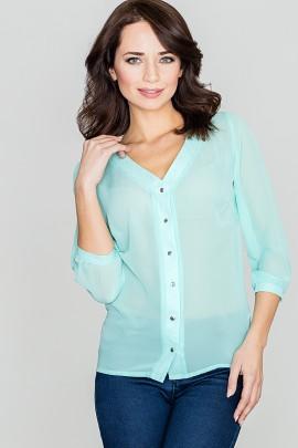 Блузка LENITIF K089 мята