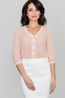 Блузка LENITIF K089 розовый