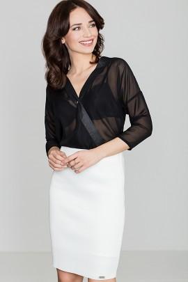 Блузка LENITIF K138 черный