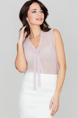 Блузка LENITIF K155 фиолетовый