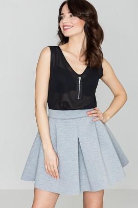 Блузка LENITIF K220 черный