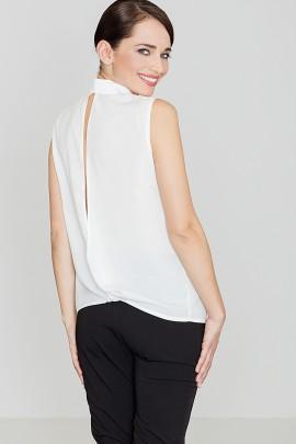 Блузка LENITIF K363 экрю