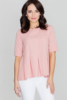 Блузка LENITIF K370 розовый