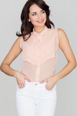 Блузка LENITIF K378 розовый
