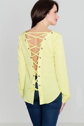 Блузка LENITIF K385 лимонный
