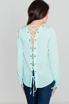 Блузка LENITIF K385 мята