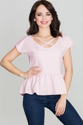 Блузка LENITIF K396 розовый