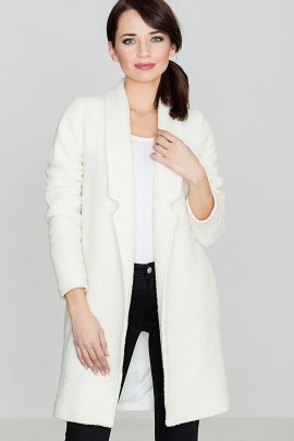 Пальто LENITIF K406 экрю