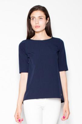 Блузка VENATON VT002 тёмно-синий