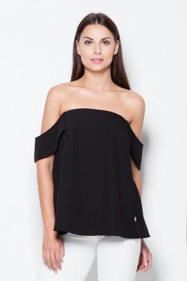 Блузка VENATON VT005 черный