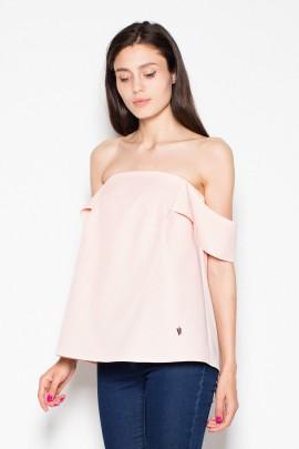 Блузка VENATON VT005 розовый