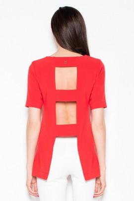 Блузка VENATON VT006 красный