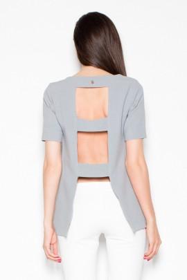 Блузка VENATON VT006 серый