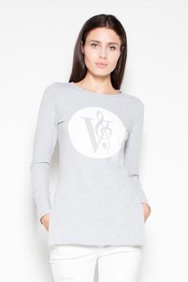 Блуза VENATON VT014 серый