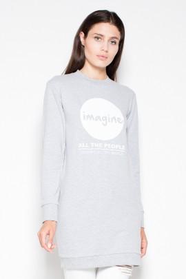 Блуза VENATON VT015 серый