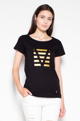 Блузка VENATON VT083 черный