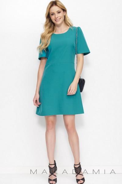 Платье MAKADAMIA M378 зелёный