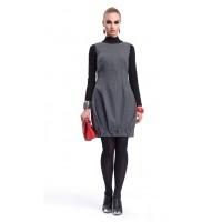 Шерстяное Платье-бомбка ZAPS Syntia Цвет 029