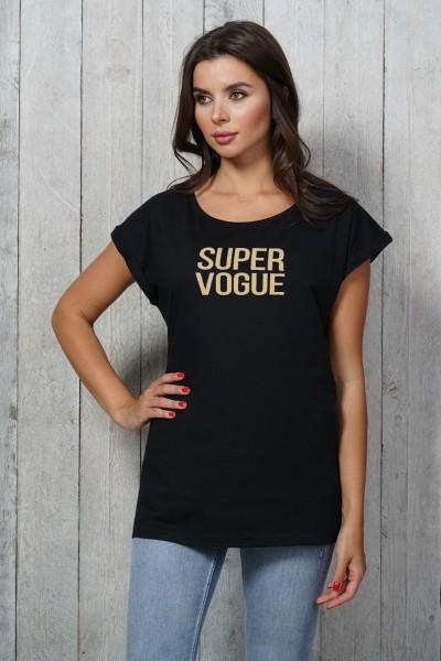 Футболка MARTAR Super Vogue чёрный