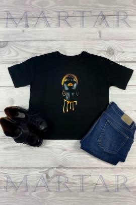Блузка MARTAR CHAT-01-212 чёрный