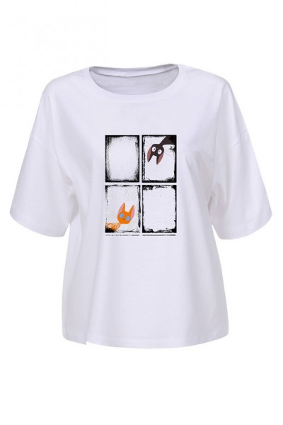 Блузка MARTAR CHAT-01-218 белый