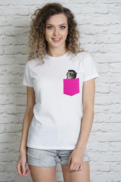 Блузка MARTAR KIESZ CAT-4 розовый МСК