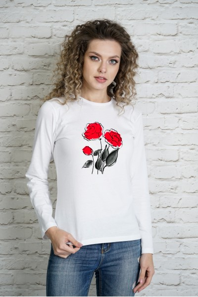 Блузка MARTAR 0049lg белый