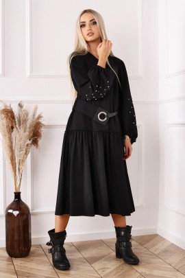 Платье ALEKSSANDRA AFRA чёрный