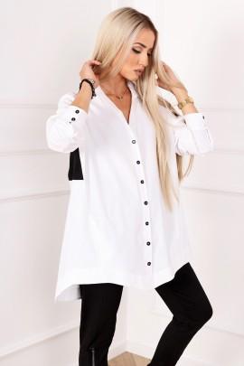 Блузка ALEKSSANDRA FABULONS белый