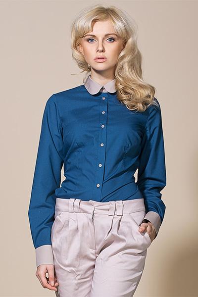 Рубашка ALORE al02 лазурь