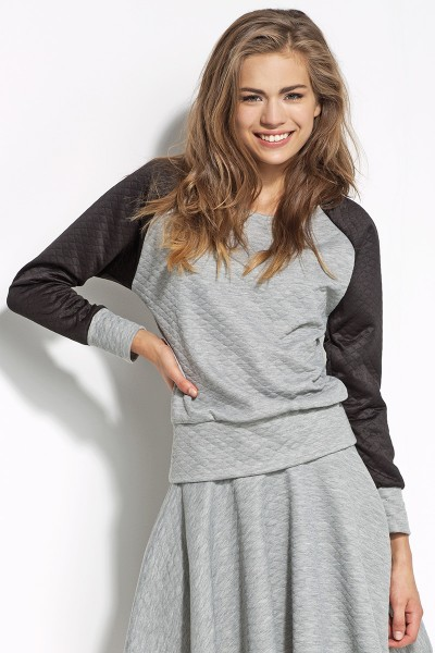 Блузка ALORE al13 серый