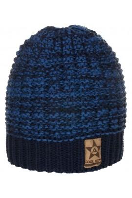 Шапка ANDER 8024 темно-синий 6-9 лет