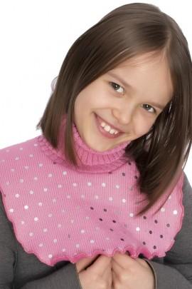 Манишка ANDER 8049 розовый 3-5 лет
