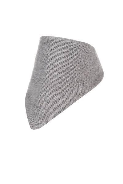 Шарф-косынка ANDER 9002_1 серый 6-12 мес