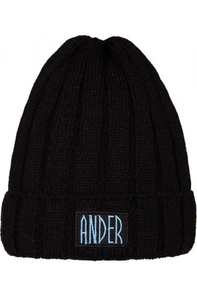 Шапка ANDER 9049 чёрный разм. 52-54