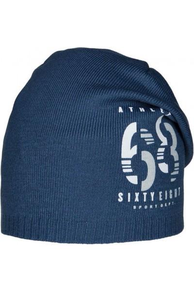 Шапка ANDER 9073 синий разм. 54-56