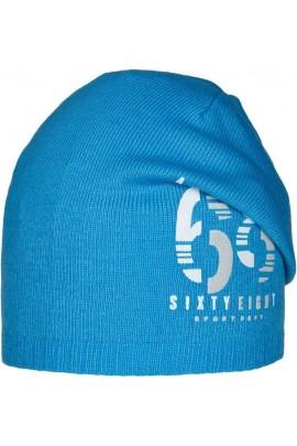 Шапка ANDER 9073 ярко-голубой разм. 54-56