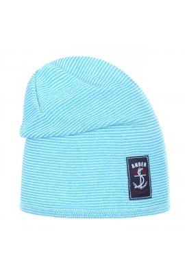 Шапка ANDER 1434 голубой разм. 50