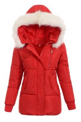Куртка KORNELIA зима красный