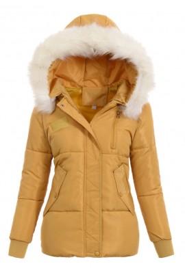 Куртка KORNELIA зима жёлтый