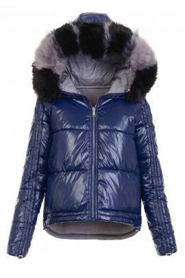 Куртка EWELINA зима ОРТАЛИОН синий