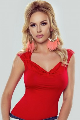 Блузка Eldar NELLY красный MSK