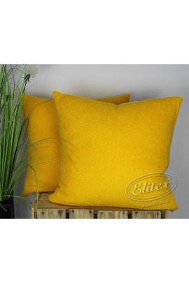 Наволочка ELITEX махра жёлтый