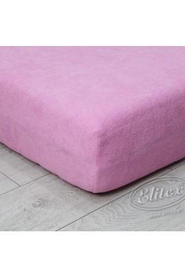 Простыня ELITEX махра розовый MAXI