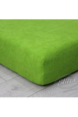 Простыня ELITEX махра зелёный MINI