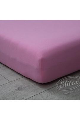 Простыня ELITEX джерси розовый MAXI