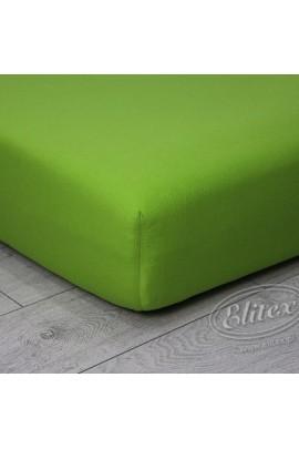 Простыня ELITEX джерси зелёный MINI